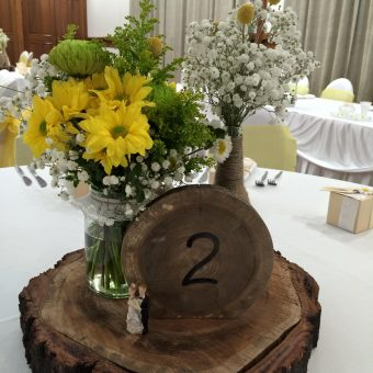 Wedding centrepiece Gladstone