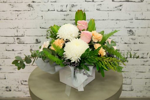Pastel Boxed Arrangement- Small